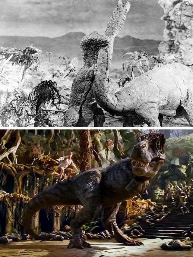 Ремейки старых фильмов с современными спецэффектами (19 фото)