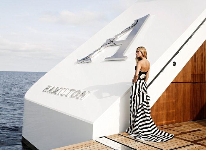 Опубликованы свежие фото яхты российского миллиардера Андрея Мельниченко (20 фото)