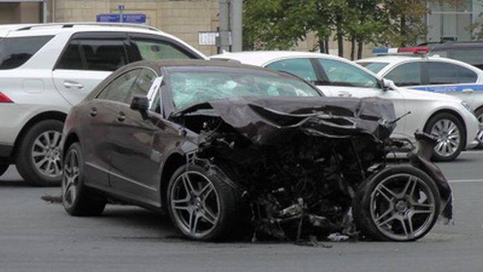 Личный водитель Путина погиб в ДТП (3 фото + видео)