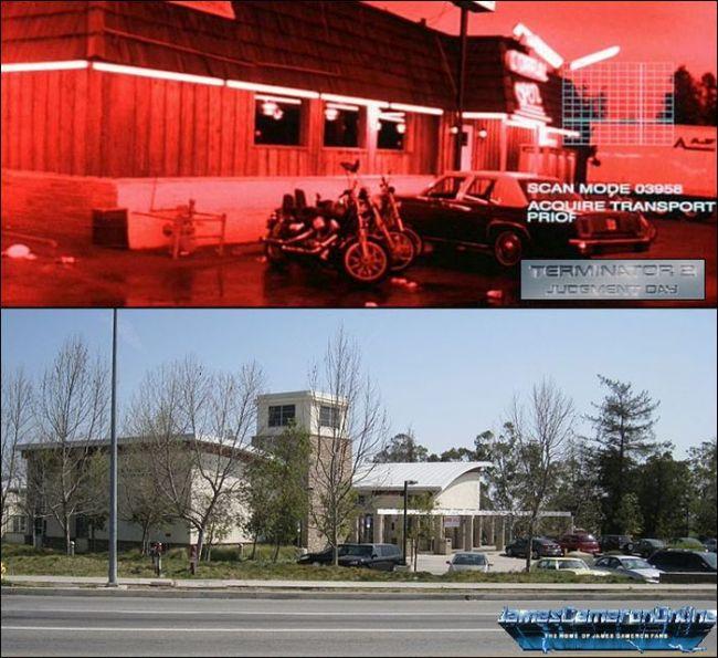 Места съёмок фильма «Терминатор 2: Судный день» 25 лет спустя (17 фото)