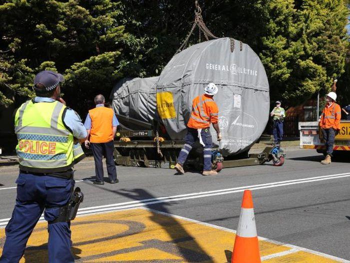 Особенности транспортировки габаритных грузов в Австралии (5 фото)