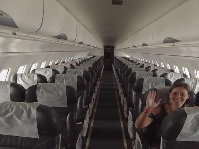 Британские туристы оказались единственными пассажирами самолета