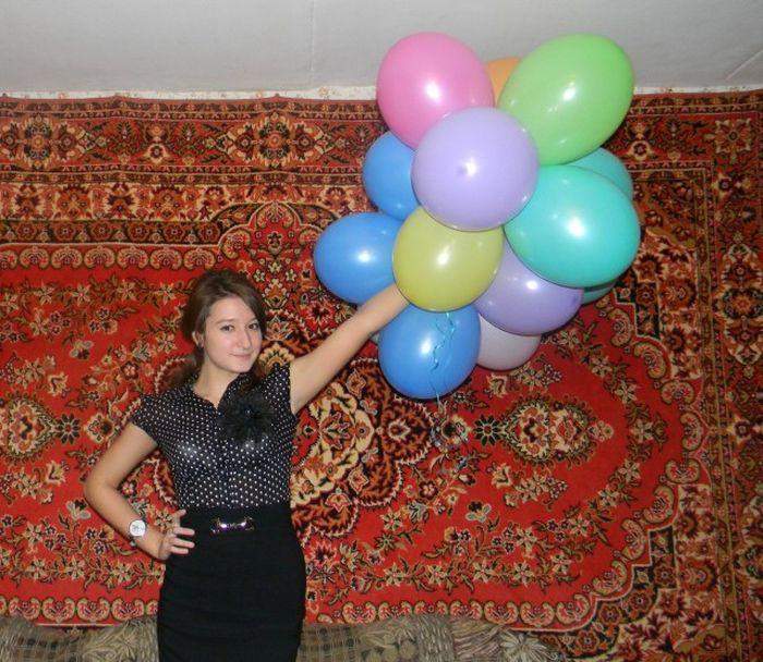 Домашние фото любительниц ковров (47 фото)