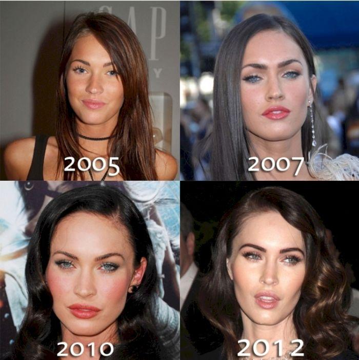 Как менялись звезды за годы своей карьеры (16 фото)
