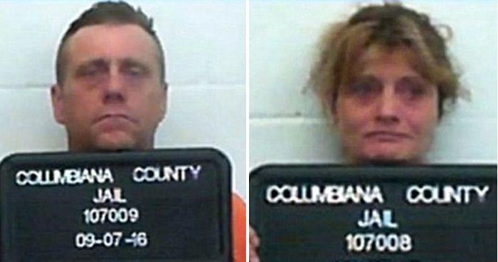 В США задержали родителей-наркоманов 4-летнего мальчика (3 фото)