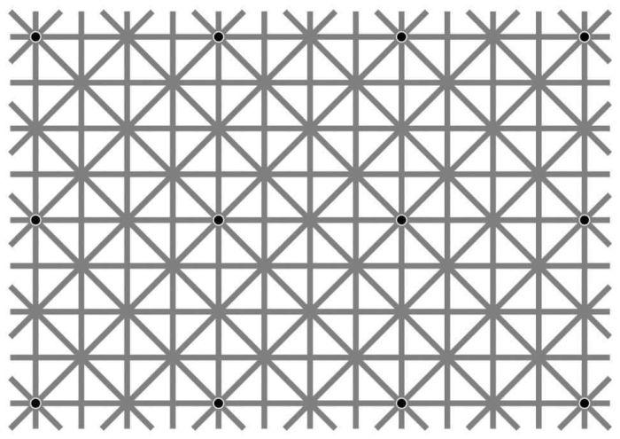 Оптическая иллюзия Нинье взбудоражила пользователей сети (картинки)