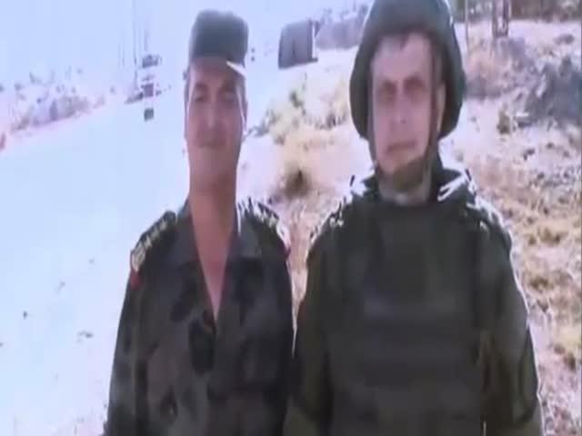 В Сирии во время видеомоста обстреляли подполковника Сергея Копицына