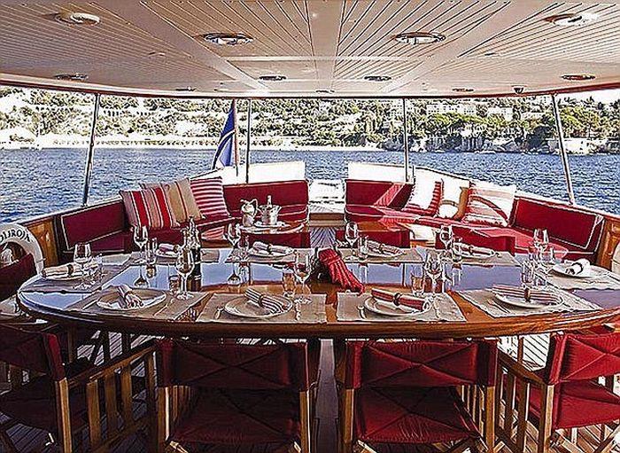 Джоан Роулинг выставила на продажу свою яхту (9 фото)