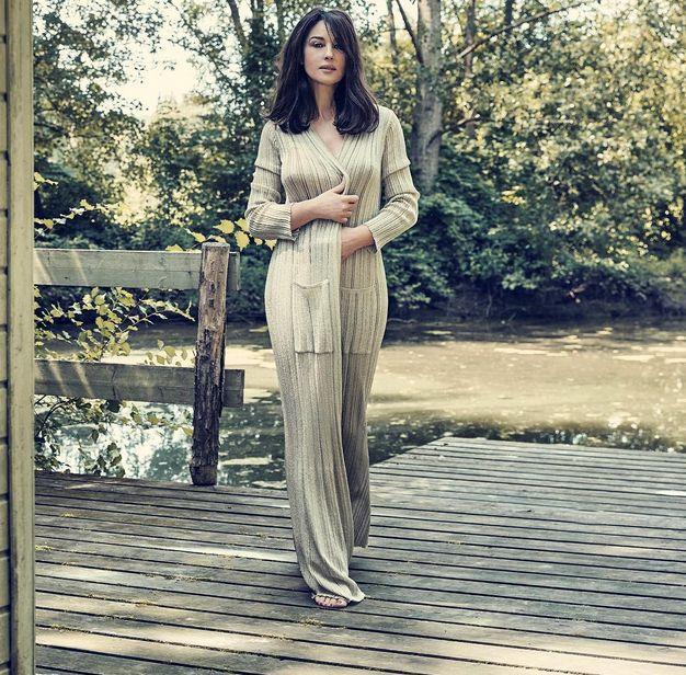 Моника Беллуччи снялась обнаженной для журнала Paris Match (5 фото)