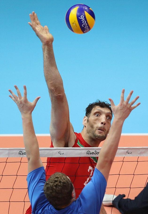 Иранский волейболист оказался самым высоким спортсменом за всю историю Паралимпиады (6 фото)
