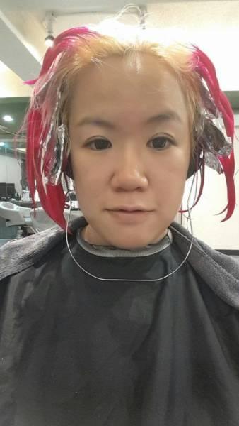 Ожидание и реальность при посещении парикмахерской (7 фото)
