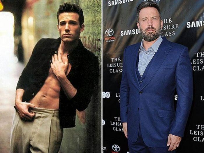 Голливудские секс-символы тогда и сейчас (15 фото)