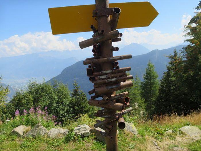 Простое и эффективное устройство для поиска гор в Швейцарии (3 фото)