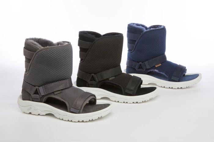 Такого вы еще не видели: смесь угги с сандалиями (6 фото)