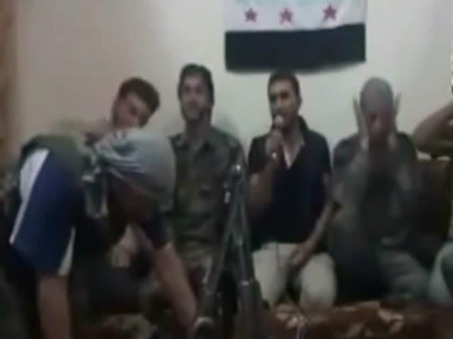 Сирийские повстанцы подорвались во время селфи