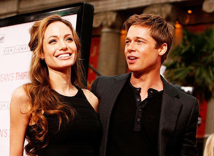 Анджелина Джоли подала на развод с Брэдом Питтом (29 фото)