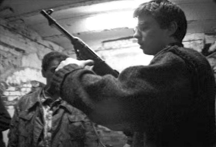 Сергей Бодров о съемках фильма «Брат 2» (25 фото)