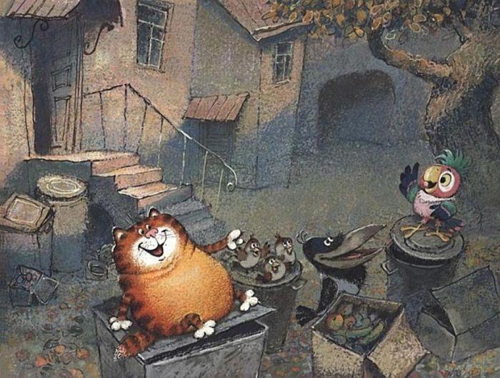 Рабочие эскизы популярных советских мультфильмов (50 фото)