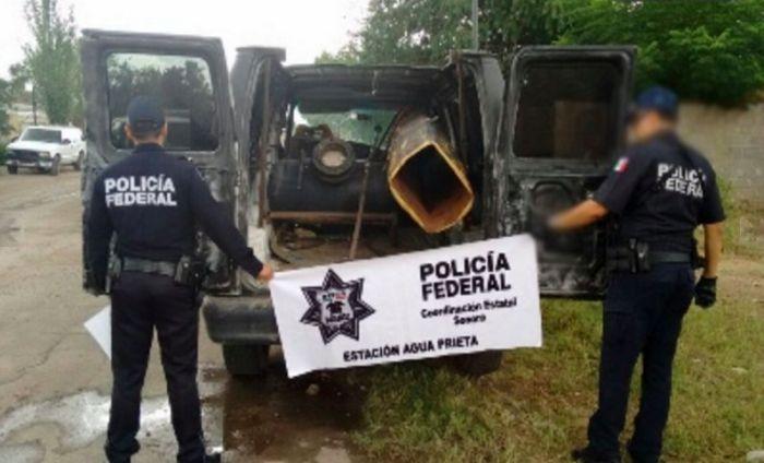 В Мексике у американской границы обнаружили пушку для переброски наркотиков (2 фото)