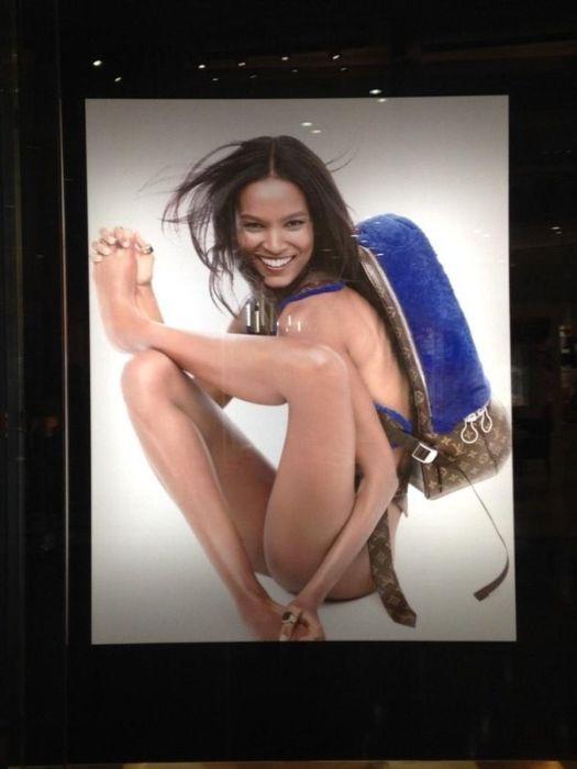 Неудачно обработанные снимки для глянцевых журналов и реклам (16 фото)
