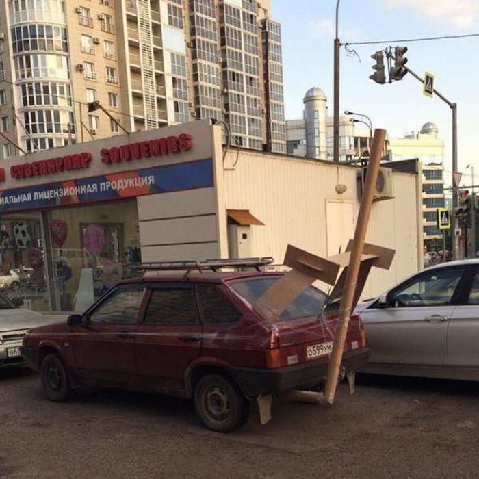 Фото, которые возможно было сделать только в России. Часть 40 (37 фото)