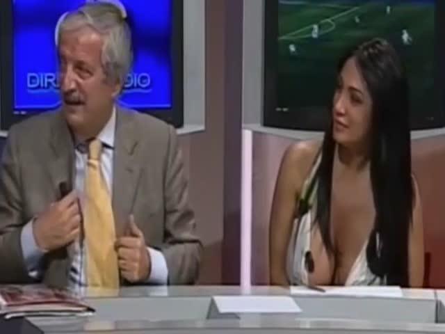 Телеведущая Марика Фрусцио показала больше, чем рассчитывала