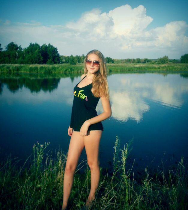 Русские фотографии красавицы #3