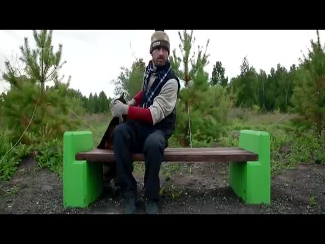 Омские пранкеры сняли клип о несуществующем «Парке имени 300-летия Омска»
