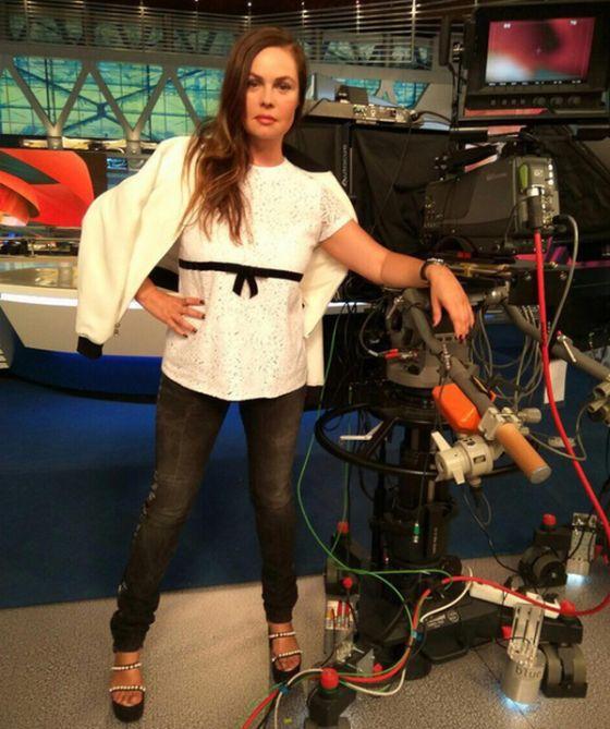 Фото со страницы телеведущей Екатерины Андреевой (25 фото)