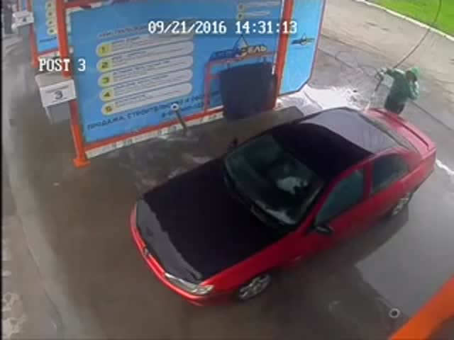 Как не нужно мыть машину