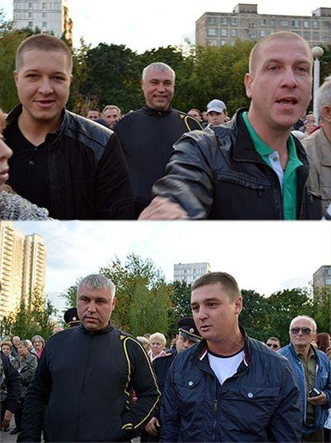 Как члены организации «Офицеры России» оказались обычными «братками» (16 фото)