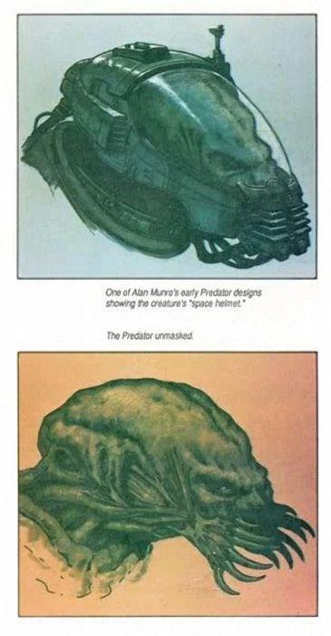 Как создавали образ хищника (16 фото + видео)