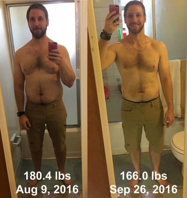 Мужчина похудел на 6,5 кг, играя в игры с гарнитурой виртуальной реальности (2 фото)