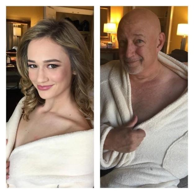 Отец затроллил фотосессию дочери-модели (10 фото)