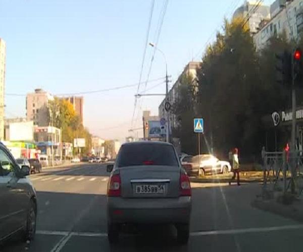 Дорожный конфликт с водителем внедорожника Range Rover