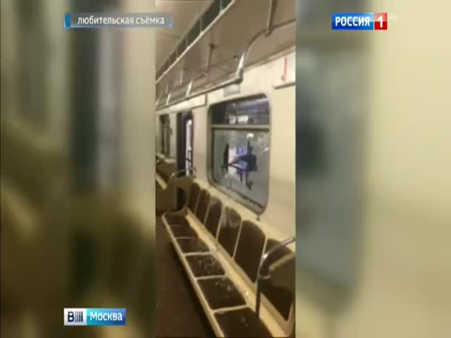 В Москве задержали мужчину, стрелявшего во вагонам метро