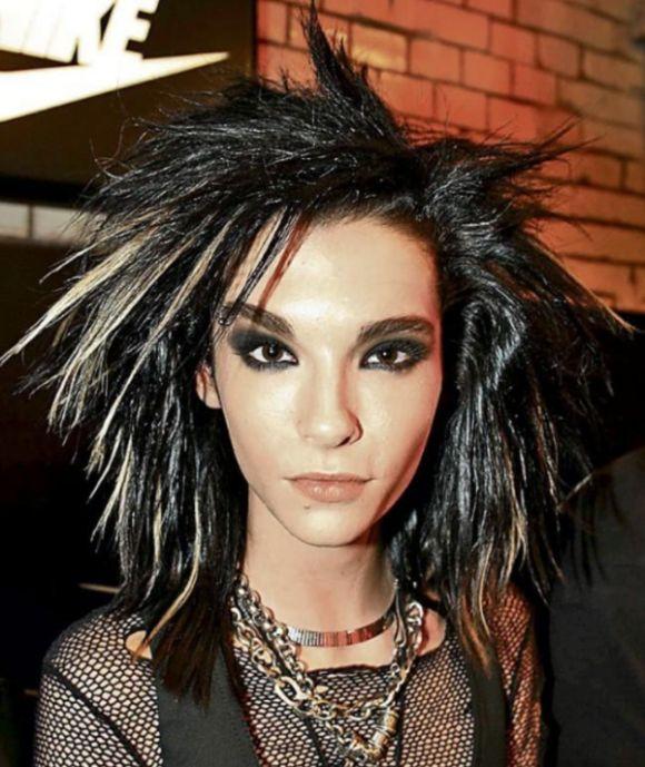 Вокалист Tokio Hotel Билл Каулитц сменил имидж (3 фото)