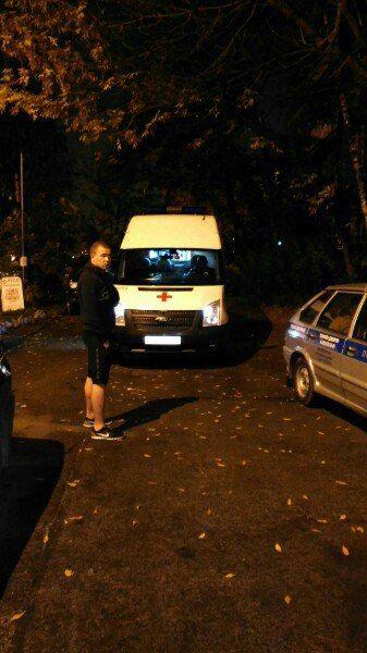 В Санкт-Петербурге парень спас женщину от насильника (4 фото + текст)