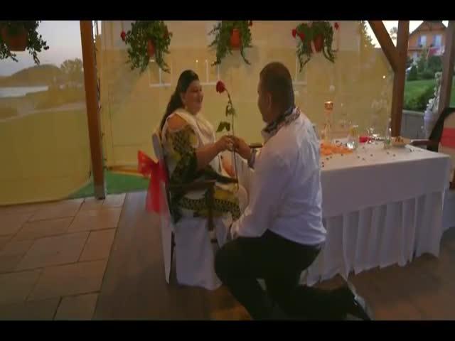 Цыганская свадьба с дождем из денег и золота
