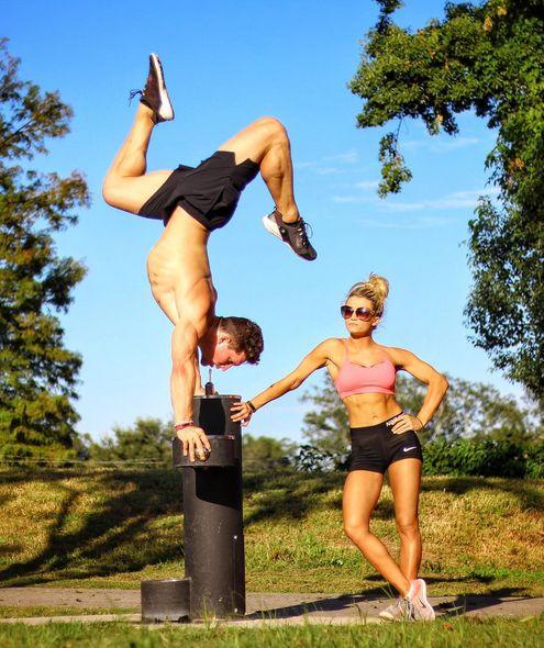 Отличная мотивация от американской фитнес-пары (15 фото + видео)