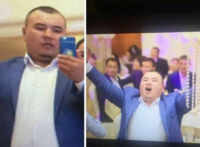 Оригинальная кража на казахской свадьбе (2 фото)