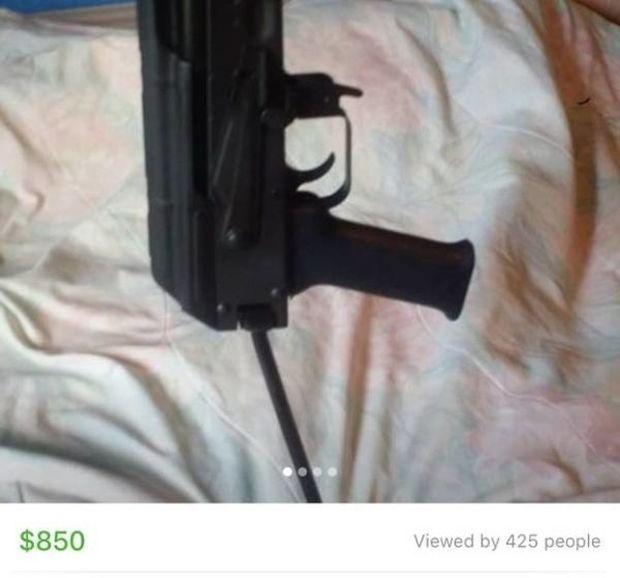 На торговой площадке Facebook обнаружили объявления о продаже оружия и людей (4 скриншота)