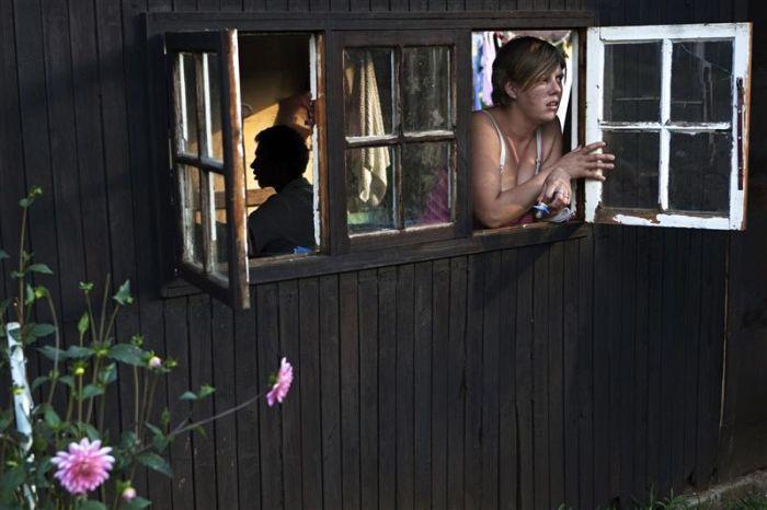Белое гетто в ЮАР (25 фото)