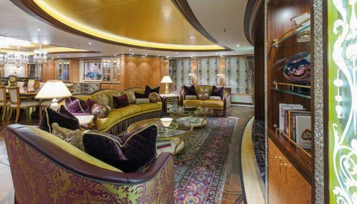 Solandge - одна из самых роскошных яхт мира (19 фото)