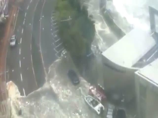Тайфун «Чаба» в Южной Корее