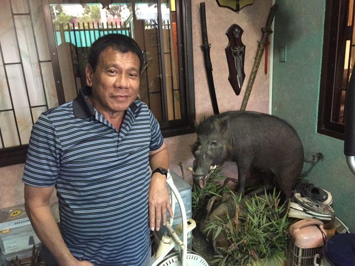 Громкие высказывания сурового президента Филиппин Родриго Дутерте (6 фото)