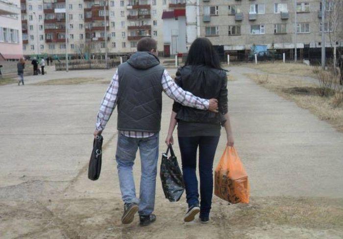 Фото, которые возможно было сделать только в России. Часть 41 (51 фото)