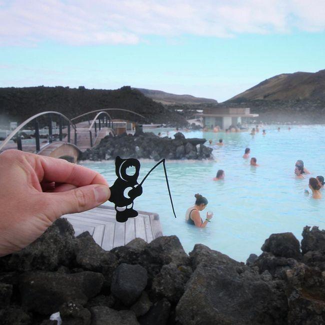 Прикольные фото путешественника с хорошей фантазией (26 фото)