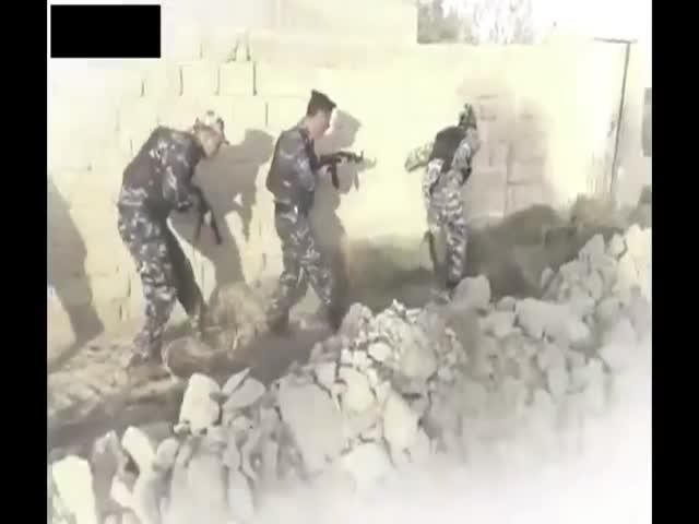 Фейл на учениях арабского спецназа