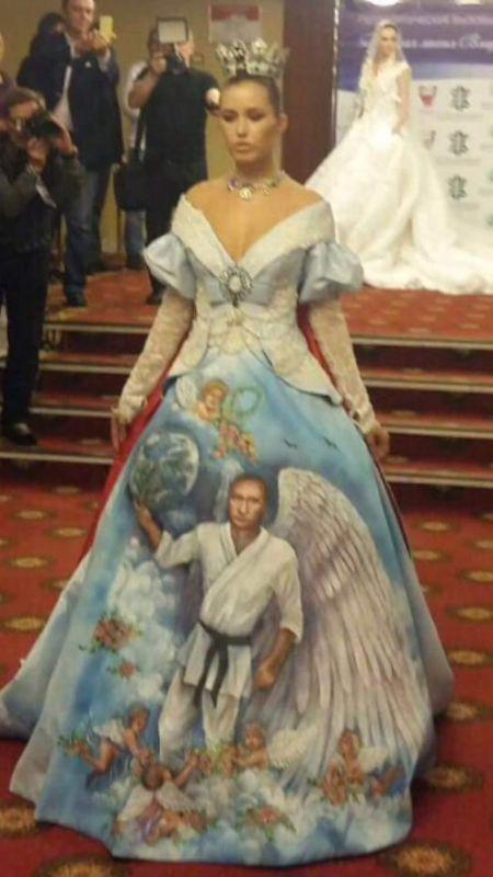 Странная мода теперь и в России (3 фото)